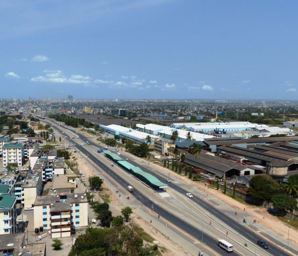 Bus Rapid Transit (BRT) Infrastructure, Dar Es Salaam, Tanzania