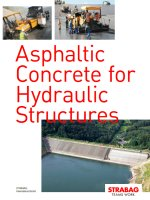 Asphaltic Concrete for Hydraulic Structures
